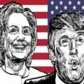 Clinton and Tramp