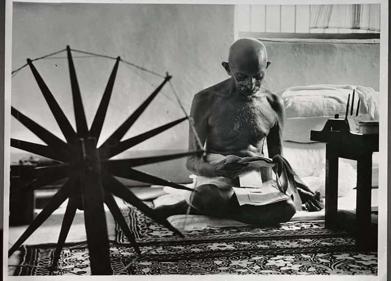 نتيجة بحث الصور عن غاندي في السجن