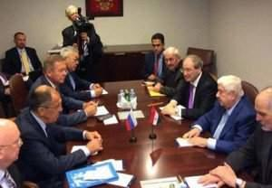 Lavrov and Moualem